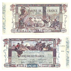 Billet de 5 000 Francs Flameng TTB - France 1918