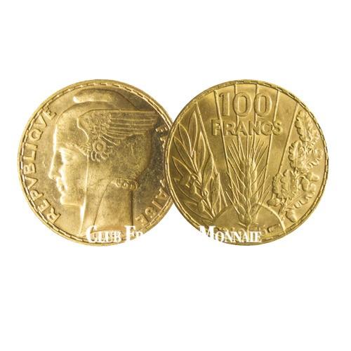100 Francs Or Bazor - France 1935-1936