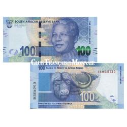Billet de 100 Rands Nelson Mandela - Afrique du Sud