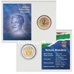 5 Rands Nelson Mandela colorisée - Afrique du Sud