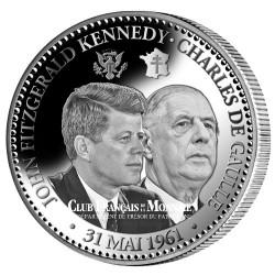 John Fitzgerald Kennedy et Charles de Gaulle