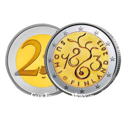 2€ 150e anniversaire du Parlement - Finlande 2013