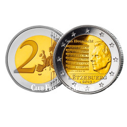 2 Euro Hymne national - Luxembourg 2013