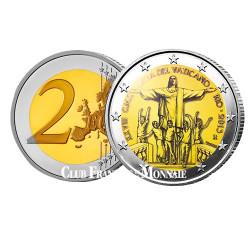 2 Euro Vatican BU 2013