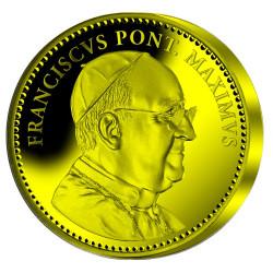 Pape François - L'homme de l'année 2013 - Or BE