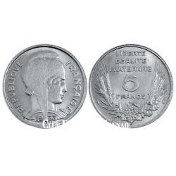 5 Francs Bazor France 1933