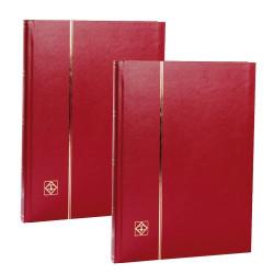 Les 2 albums rouge
