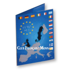 Lot de 18 pochettes pour séries d'Euros
