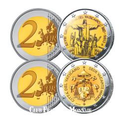 Lot des 2 Euro Vatican 2013