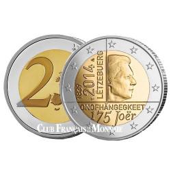 2 Euro Luxembourg 2014 - 175 ans d'indépendance