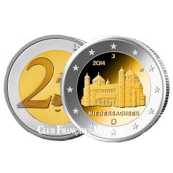 2 Euro Allemagne 2014 - Eglise Saint-Michel en Basse Saxe