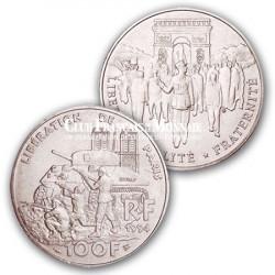 1994 - 100 Francs Argent Libération de Paris