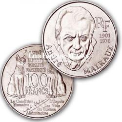 1997 - 100 Francs Argent Malraux
