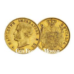 40 Lires Or Napoleon 1er Empereur et Roi