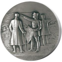 Reprise du fort de Douaumont - Bronze argenté