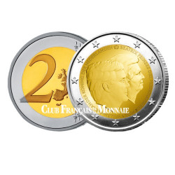 2 Euros Pays-Bas 2014 - Portraits Willem-Alexander et Beatrix
