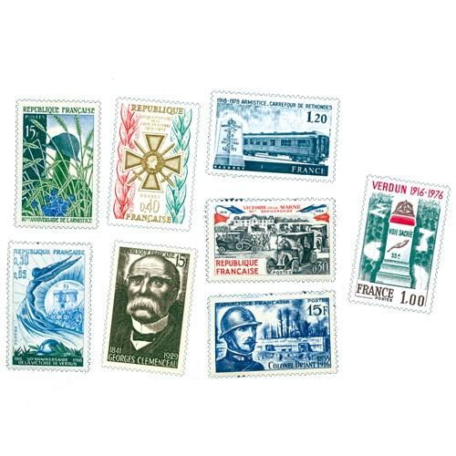 Lot de 23 timbres 14-18