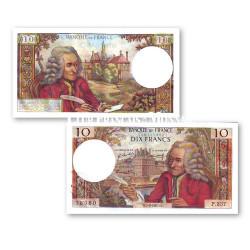 Billet de 10 Francs Voltaire