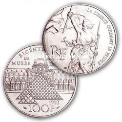 1993 - 100 Francs Argent Liberté guidant le Peuple
