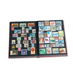 Album pour 2000 timbres imprimé timbres