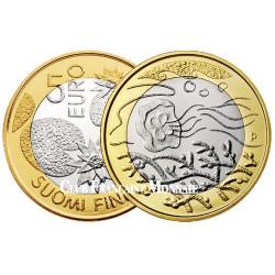 5 Euro Finlande 2014 - Les Merveilles de la Nature - Les Fonds Marins