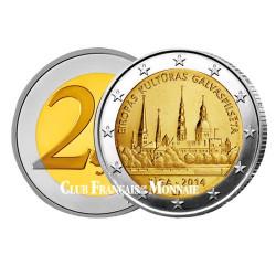 2 Euro Lettonie 2014 - Riga Capitale européenne de la Culture