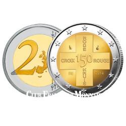 2 Euro Belgique BU 2014 - 150 ans de la Croix Rouge