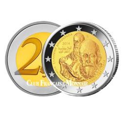"""2 Euro Grèce 2014 - """"El Greco"""" et Saint-Paul"""