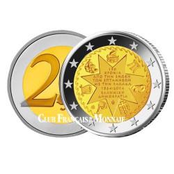 2 Euro Grèce 2014 - 150 ans de l'union des Iles Ioniennes à la Grèce