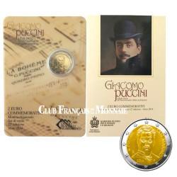 2 Euro Saint-Marin 2014 - Giacomo Puccini
