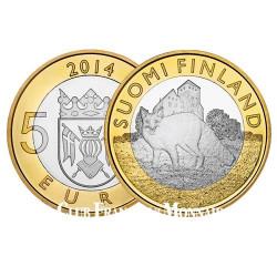 5 Euro Finlande 2014 - Région de Porper - Le Renard