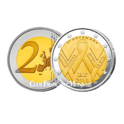 2 Euro France 2014 - Sidaction