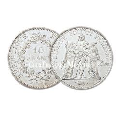 10 Franc Argent Hercule 1973