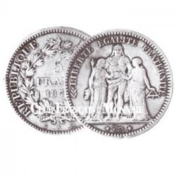 1875 - 5 FRANCS ARGENT HERCULE