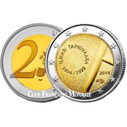2€ Finlande 2014 Ilmari Tapiovaara