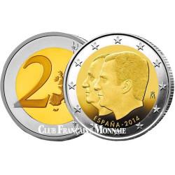 2€ Espagne 2014 Philippe VI