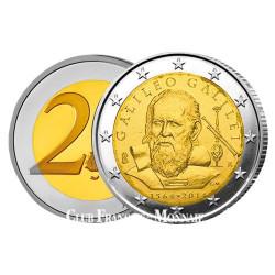 2 Euro Italie 2014 - 450 ANS DE GALILEE