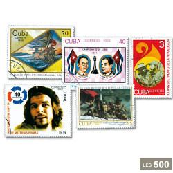 500 timbres Cuba