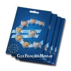 Lot de 10 séries de 8 capsules Euros