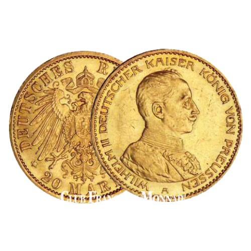 20 marks Guillaume II 1914