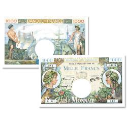 Billet 1000 Francs Commerce et Industrie 1940