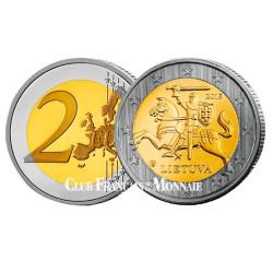 2 Euro Lituanie 2015 - Chevalier Vytis