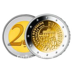 2 Euro Allemagne 2015 - 25e anniversaire de la Réunification