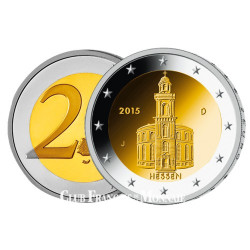 2 Euro Allemagne 2015 - Eglise Saint-Paul