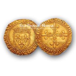 cu d'Or Louis XII au soleil (1462 - 1515)