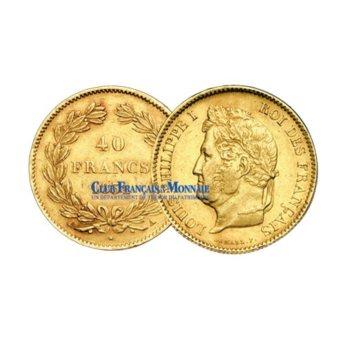 40 F Or Louis Philippe - 1833 A