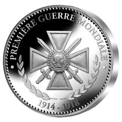 """""""Grande Guerre – Le Centenaire Colorisé"""" Argent"""