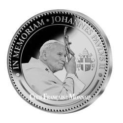 Médaille Argent Belle Épreuve - In Memoriam Jean-Paul II