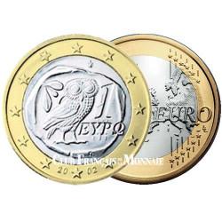1 Euro Grèce - millésimes variés