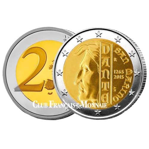 2 Euro Saint-Marin 2015 - 750 ans de Dante